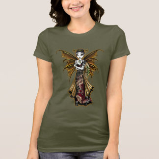 """Naomi"" Oriental Fairy Art Dragon Tattoo Shirt"