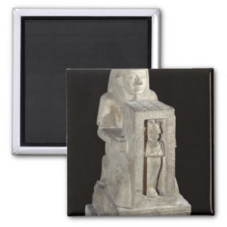 Naophorous statue of the royal scribe, Seti Square Magnet