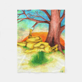 """Nap"" Fleece Blanket"