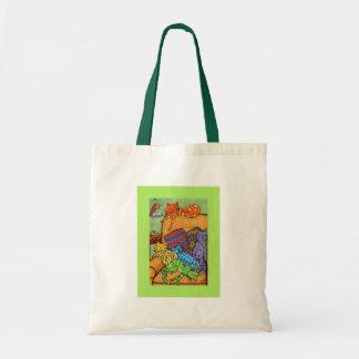 Nap Time Budget Tote Bag