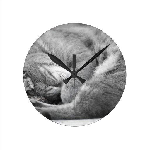 Nap Time Wall Clock