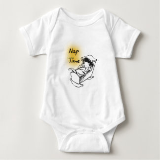 Nap Time Cradle Kitty Baby Bodysuit