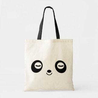 Nap Time Panda Budget Tote Bag