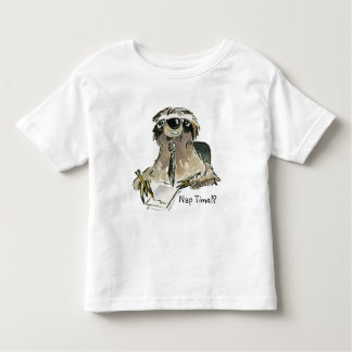 Nap Time Sloth Toddler T shirt