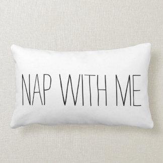 Nap with me lumbar pillow