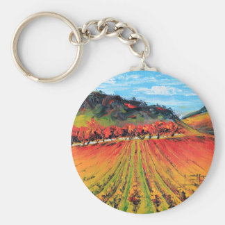 Napa Valley by Lisa Elley Key Chains