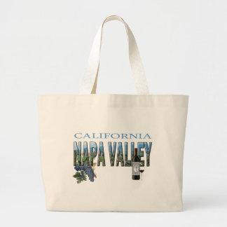 Napa Valley, CA Large Tote Bag