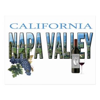 Napa Valley, CA Postcard