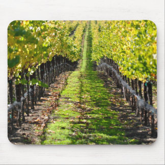 Napa Valley California Grape Vineyard Mouse Mat