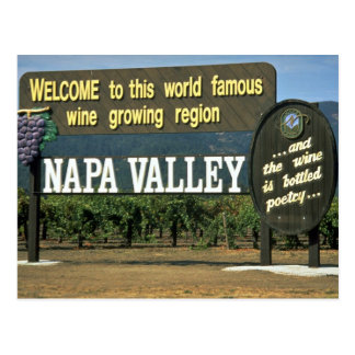 Napa Valley, California, USA Postcard
