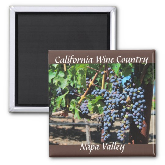 Napa Valley California Wine Country Magnet