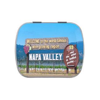 Napa Valley Candy Tins