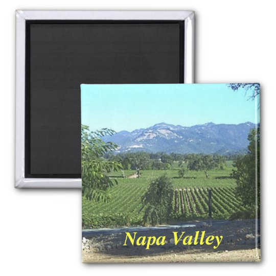 Napa Valley kitchen magnet