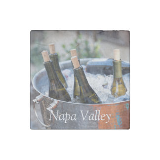 Napa Valley Magnet Stone Magnet