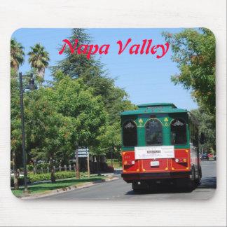 Napa Valley Streetcar Mousepads