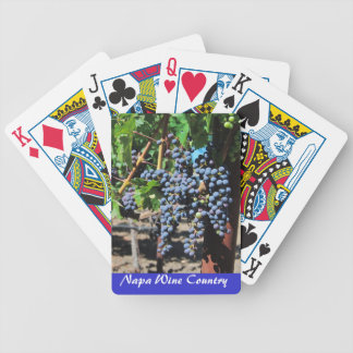 Napa Valley Wine Country Vineyard Playing Cards