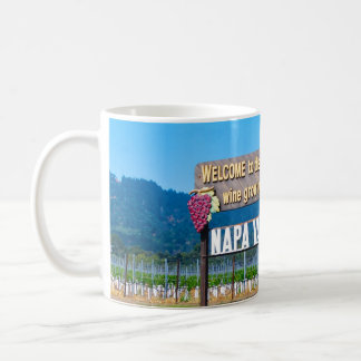 Napa Valley Wine Country Welcome Sign Mug