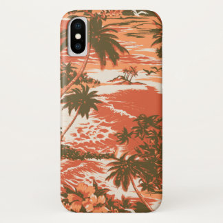 Napili Bay Hawaiian Island Scenic Papaya iPhone X Case