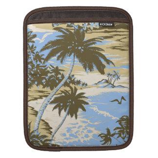 Napili Bay Hawaiian Rickshaw iPad Case