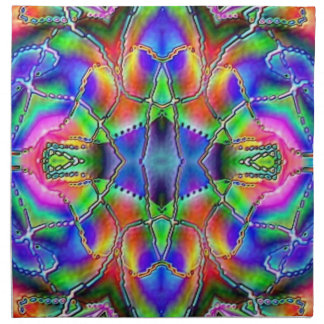 Napkin - Abstract - Asian Mystical effect