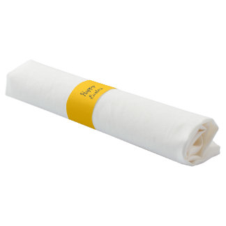 Napkin Bands uni Yellow