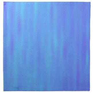 Napkin - Blue / Light Blue Streaks