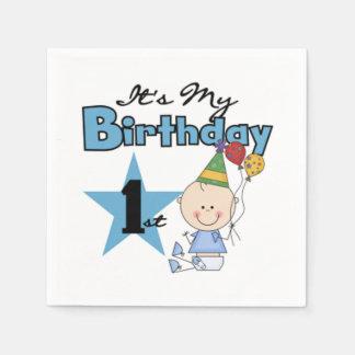 Napkin/First Birthday Disposable Napkins