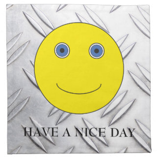 Napkin Have A nice day