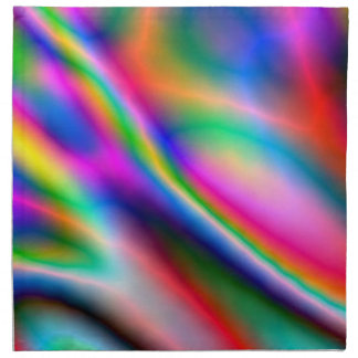 Napkin - Multicoloured lightening flashes