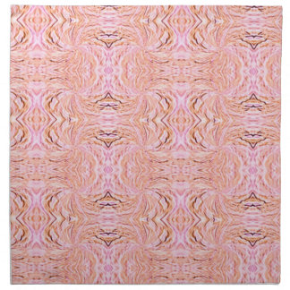 Napkin - Pink Abstract Design