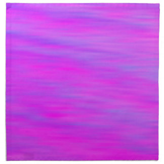 Napkin - Pink and Blue Clouds / Sky effect