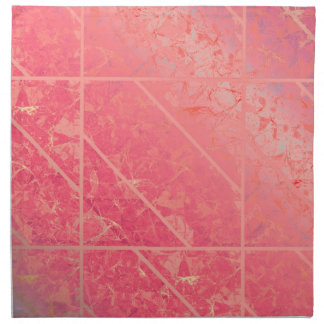 Napkin Pink Marble Texture