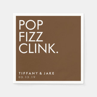 Napkin - Pop Fizz Clink Disposable Napkins