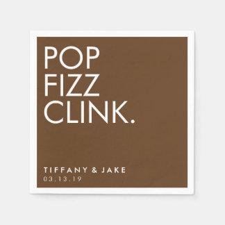 Napkin - Pop Fizz Clink Disposable Serviette