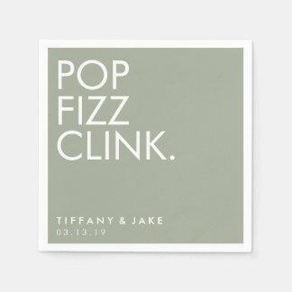 Napkin - Pop Fizz Clink Paper Napkin