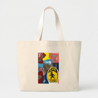 Napkin Slow Children Playing Jumbo Tote Bag