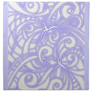 Napkins Floral abstract background