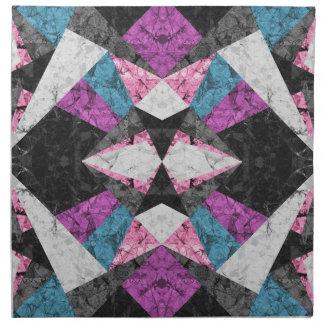 Napkins Marble Geometric Background G438