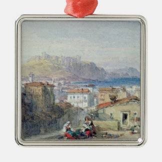Naples, 19th century; watercolour; christmas ornament