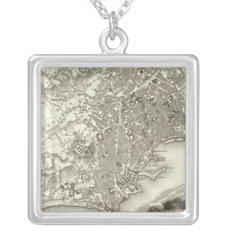 Naples, Italy Silver Plated Necklace