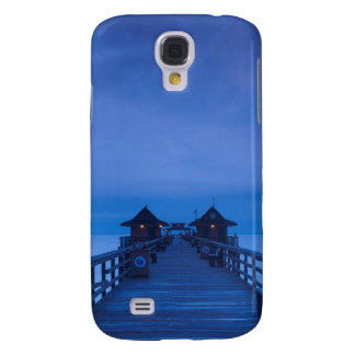 Naples Pier, dawn Galaxy S4 Case