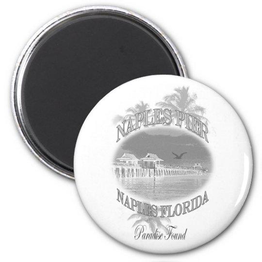 Naples Pier Magnet