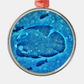 Napolean Wrasse Fish Christmas Ornament