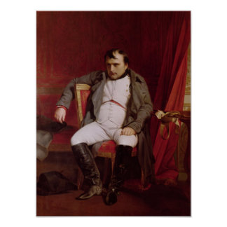 Napoleon  after his Abdication Print