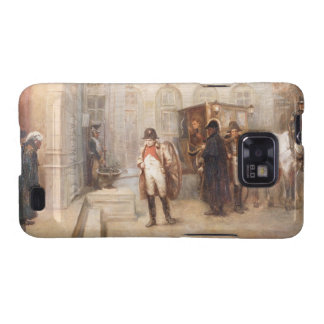Napoleon after Waterloo oil on canvas Samsung Galaxy S2 Cases