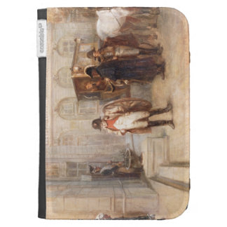 Napoleon after Waterloo oil on canvas Cases For The Kindle