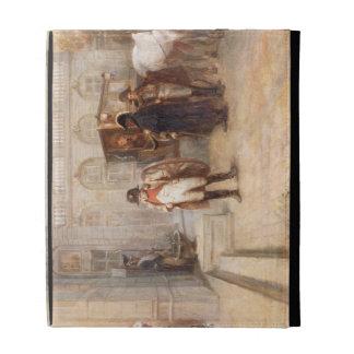 Napoleon after Waterloo (oil on canvas) iPad Case