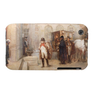 Napoleon after Waterloo (oil on canvas) iPhone 3 Case-Mate Cases