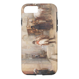 Napoleon after Waterloo (oil on canvas) iPhone 8/7 Case