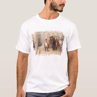 Napoleon after Waterloo (oil on canvas) T-Shirt